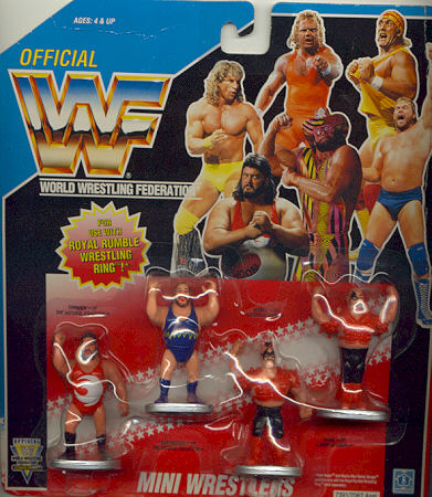 Mini Wrestlers Second