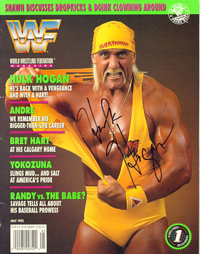Hulk Hogan gave us his support!