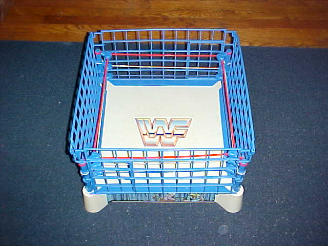 Wrestling Ring with Steel Cage
